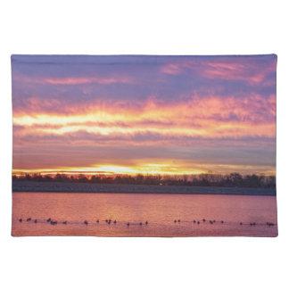 Lagerman Reservoir Sunrise Placemat
