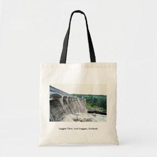 Laggan Dam Loch Laggan Scotland Tote Bag