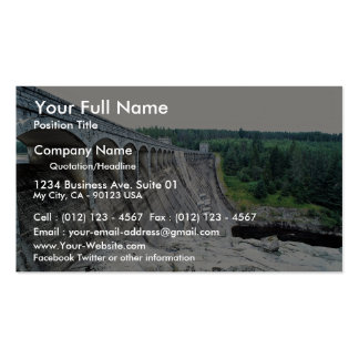 Laggan Dam, Loch Laggan, Scotland Double-Sided Standard Business Cards (Pack Of 100)
