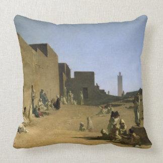Laghouat en el Sáhara argelino, 1879 Cojín