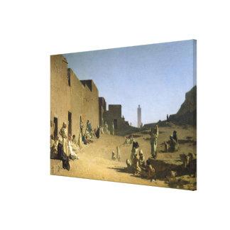 Laghouat in the Algerian Sahara, 1879 Canvas Print