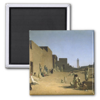 Laghouat in the Algerian Sahara, 1879 Magnet