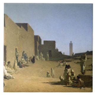 Laghouat in the Algerian Sahara, 1879 Ceramic Tiles