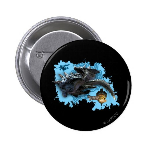 Lagiacrus chasing Hunter Buttons