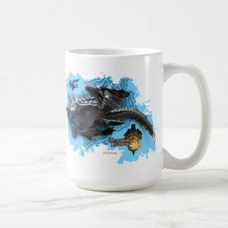 Lagiacrus chasing Hunter Coffee Mug