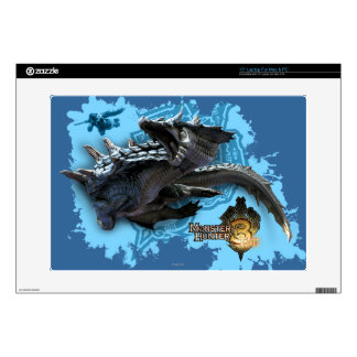 "Lagiacrus chasing Hunter Skins For 15"" Laptops"