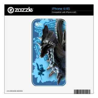 Lagiacrus chasing Hunter Skins For The iPhone 4