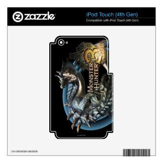 Lagiacrus iPod Touch 4G Calcomanías