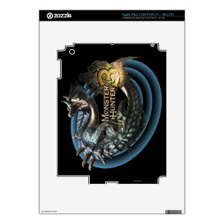 Lagiacrus Pegatinas Skins Para iPad 3