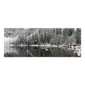 Lago 22 print del panorama de la bella arte del in fotos