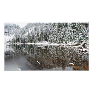 Lago 22 print del panorama de la bella arte del in arte fotografico