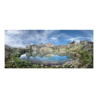 Lago 2 - desierto de Ansel Adams - Sierra minaret Fotografías
