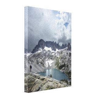 Lago 2 iceberg - desierto de Ansel Adams Impresión En Lienzo