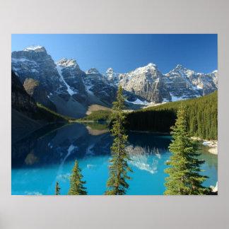 Lago 3 moraine impresiones