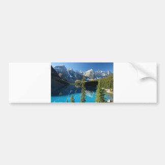 Lago 3 moraine pegatina de parachoque