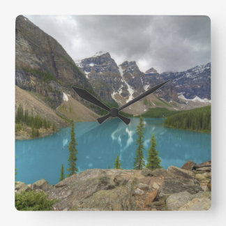 Lago Alberta Canadá moraine Reloj