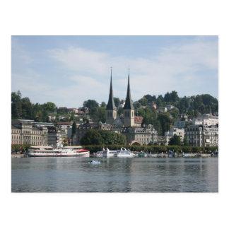 Lago Alfalfa, Vierwaldstattersee, Suiza Tarjetas Postales