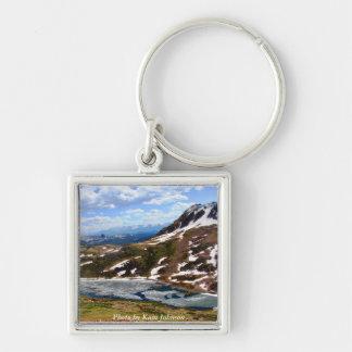 Lago alpino llavero