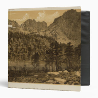 "Lago alpino, Sierra Nevada Carpeta 1 1/2"""