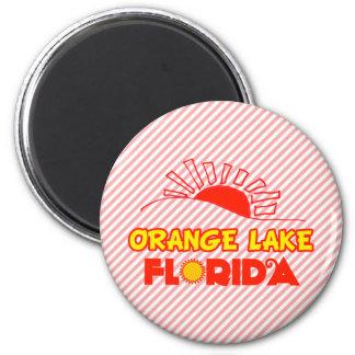 Lago anaranjado la Florida Imanes