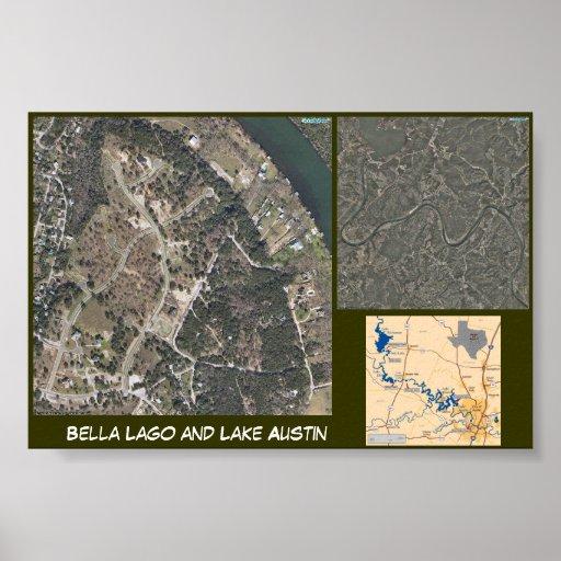 Lago and Lake Austin Posters