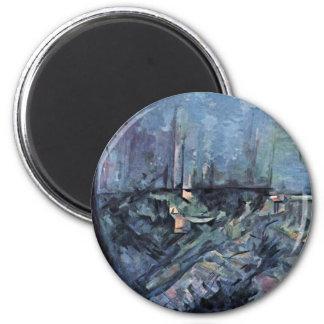 Lago Annecy de Paul Cézanne la mejor calidad Iman De Frigorífico