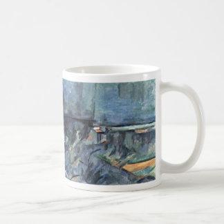 Lago Annecy de Paul Cézanne (la mejor calidad) Taza