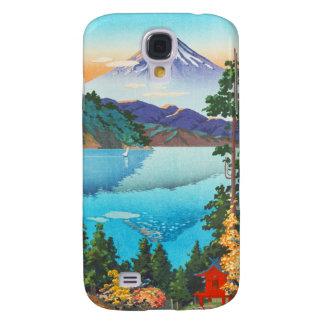 Lago Ashi Tsuchiya Koitsu en las colinas de Hakone Funda Samsung S4