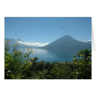 Lago Atitlan Notecard 1