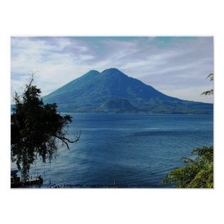 Lago Atitlan Poster