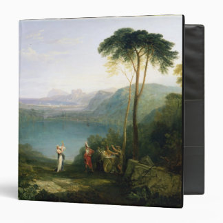 "Lago Avernus: Aeneas y la sibila de Cumaean, Carpeta 1 1/2"""