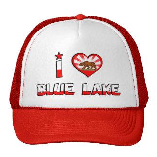Lago azul CA Gorro De Camionero