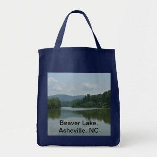 Lago beaver, Asheville, NC Bolsa Tela Para La Compra