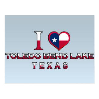 Lago bend de Toledo, Tejas Tarjetas Postales