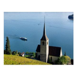 Lago Biel Suiza Postal