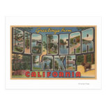 Lago big Bear, California - escenas grandes de la  Tarjetas Postales