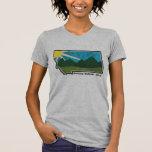 Lago Bitterroot de la locura de Montana Camisetas