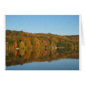 Lago Bomoseen, Vermont Tarjeta