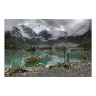 Lago Bondhus Noruega Cojinete