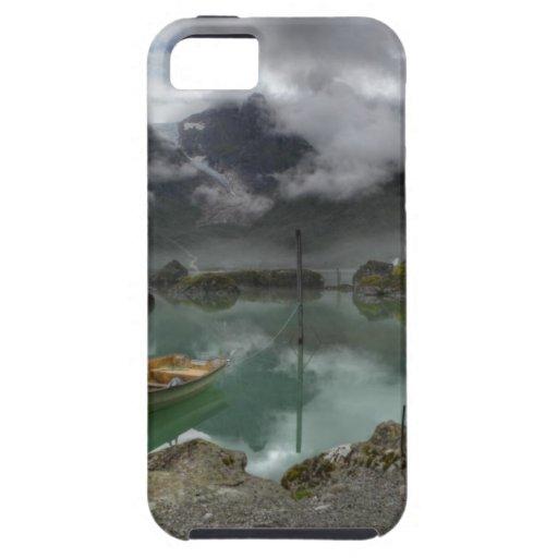 Lago Bondhus Noruega iPhone 5 Case-Mate Funda