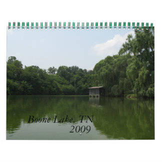 Lago Boone, 2009 - modificado para requisitos Calendarios De Pared