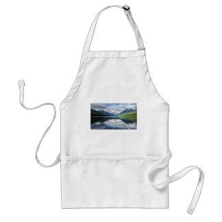 Lago bowman - Parque Nacional Glacier Montana Delantal