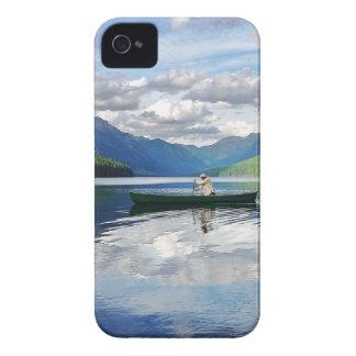 Lago bowman - Parque Nacional Glacier Montana iPhone 4 Coberturas