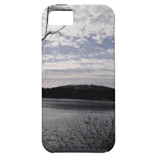 lago brillante iPhone 5 protector