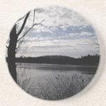 lago brillante posavasos diseño