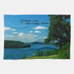 Lago Brookville, el condado de Franklin Indiana Toallas