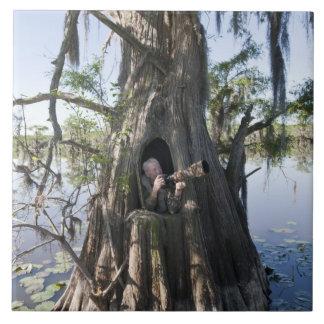 Lago Caddo, cazando persianas Azulejo Cuadrado Grande