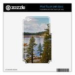 Lago California Pinecrest en agosto Skins Para iPod Touch 4G