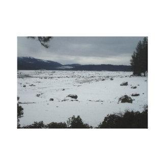 Lago Californina shaver Impresión En Lienzo