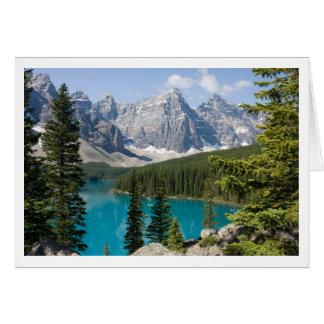 Lago Canadá moraine Tarjeta